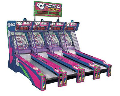 Ice Ball (skee ball) machines wanted.
