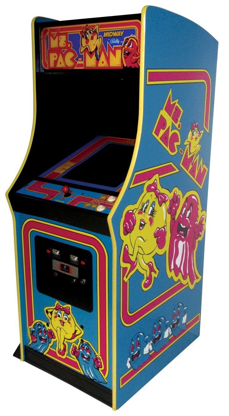 Midway Ms Pac Man Full Size Video Arcade Game We Buy