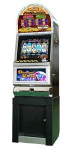 Slot Machine with cabinet
