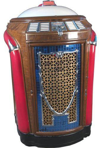 Trash can style jukebox.