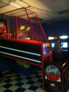 Going out of business sale of basket ball arcade game