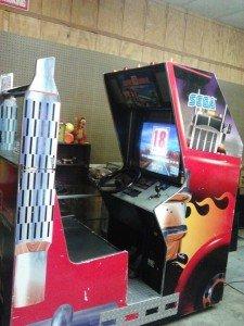 Liquidation of Sega 18 Wheel video arcade game
