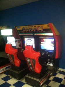 Liquidation sale of Sega Super GT driving game