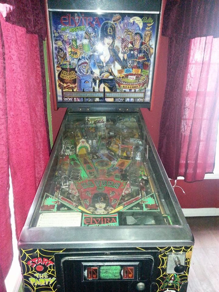 Elvira and the Party Monsters pinball machine for sale now on WeBuyPinball.com