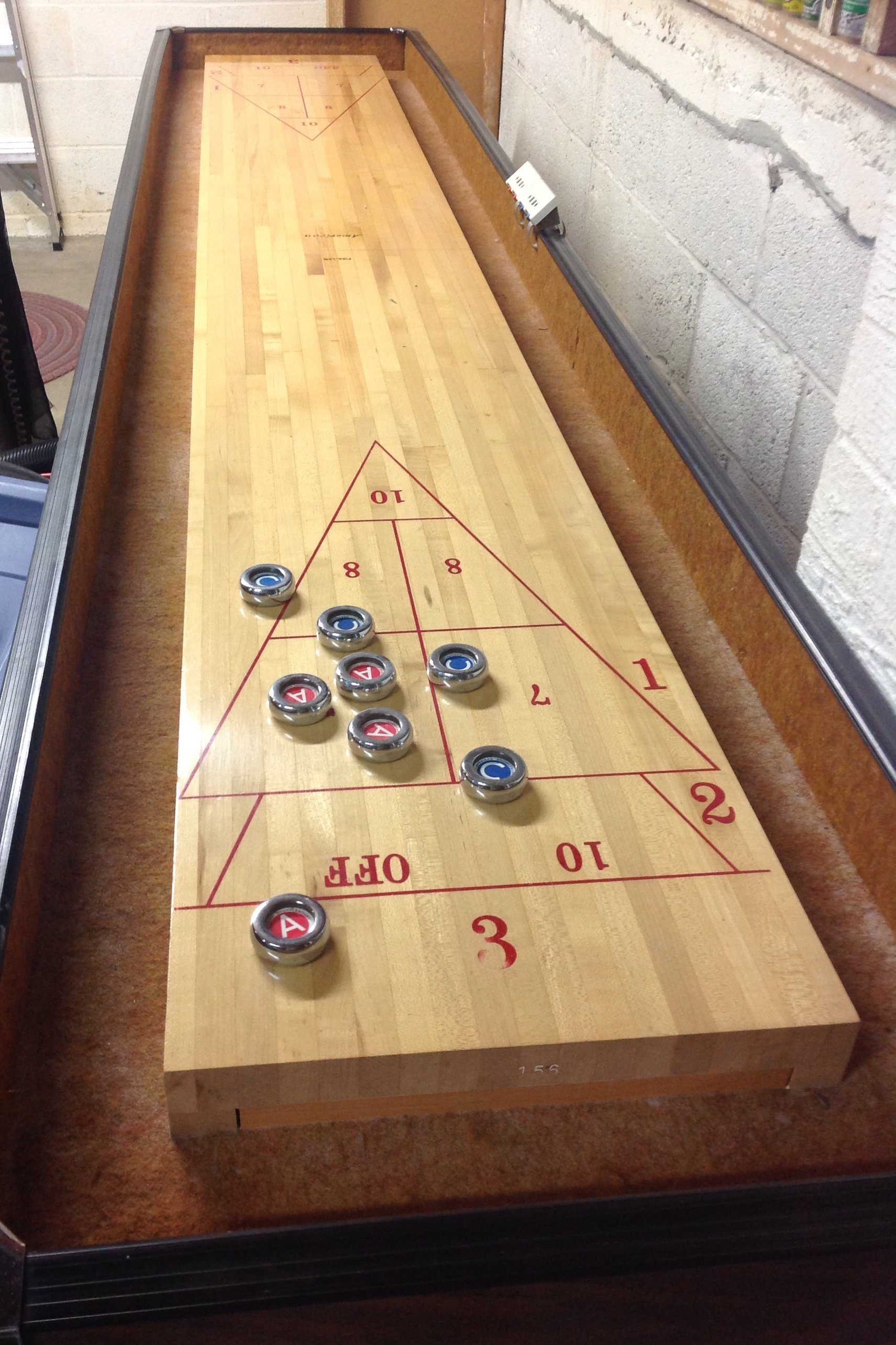 Shuffleboard Amp Bumper Pool Table For Sale In Maryland We