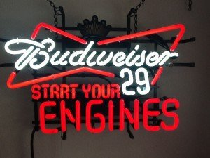 Indianapolis Colts Bud Light Budweiser Black Crown 29