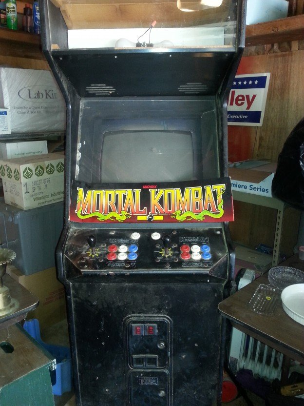 mortal kombat II video arcade game