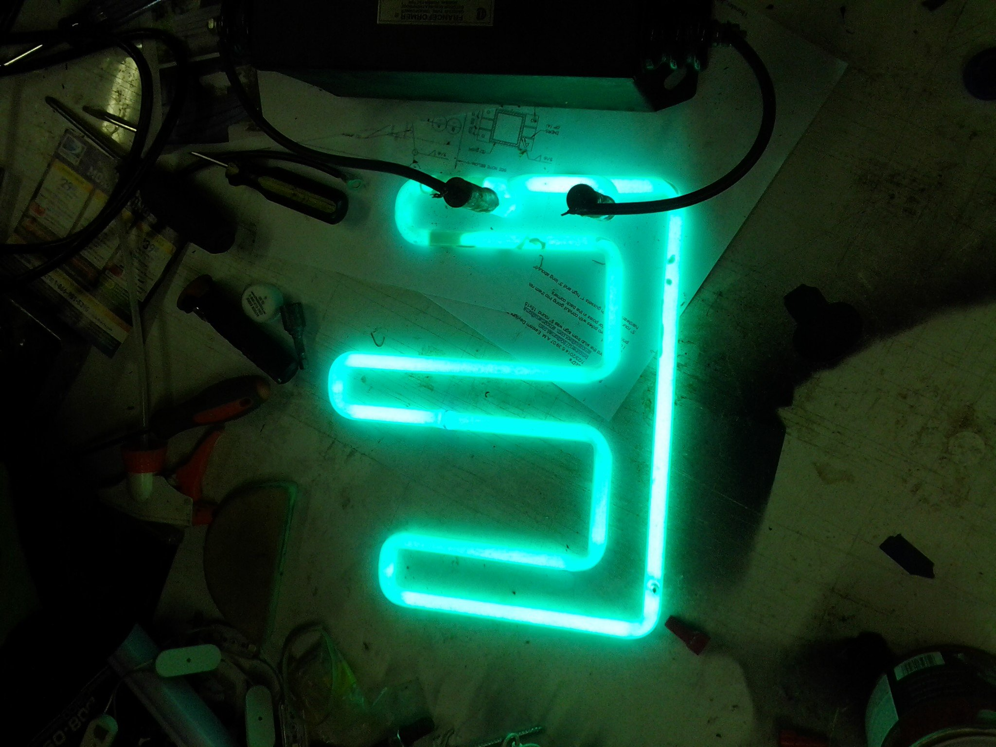 10 39 x 48 grantmoore motor lodge neon sign for sale in