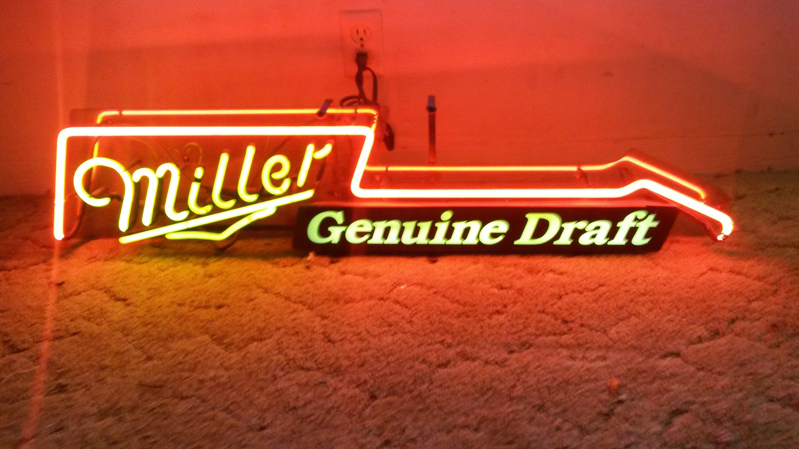 Coke Old Miller Lite Miller Guitar Amp Budweiser Neon