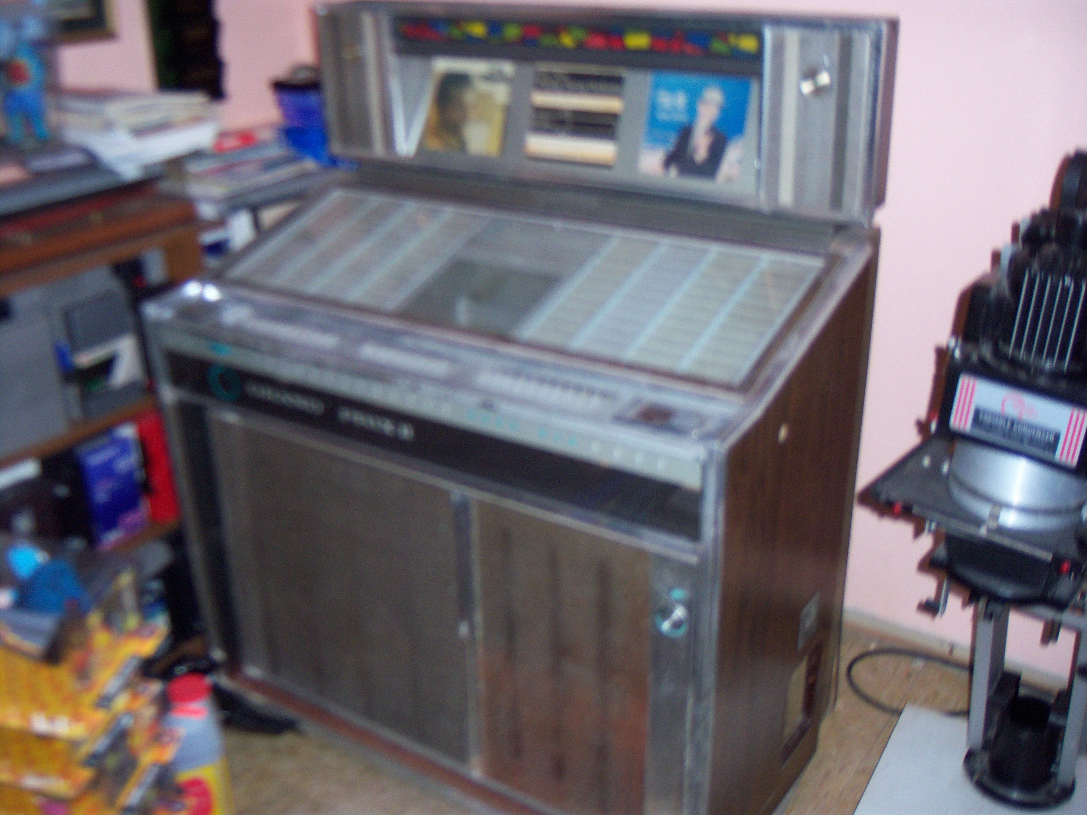 1965 Rockola Grand Prix Ii Jukebox For Sale In Ocean