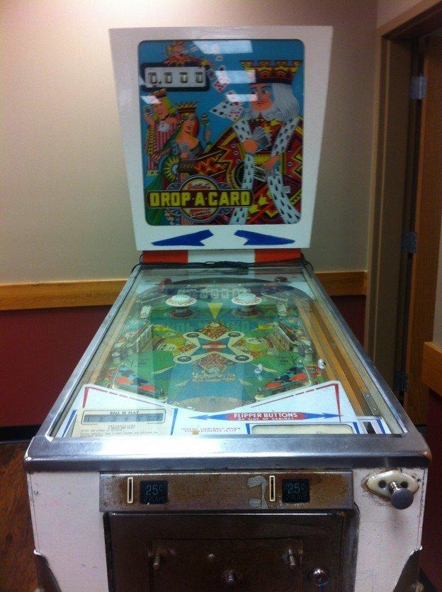 Drop a Card pinball machine for sale.