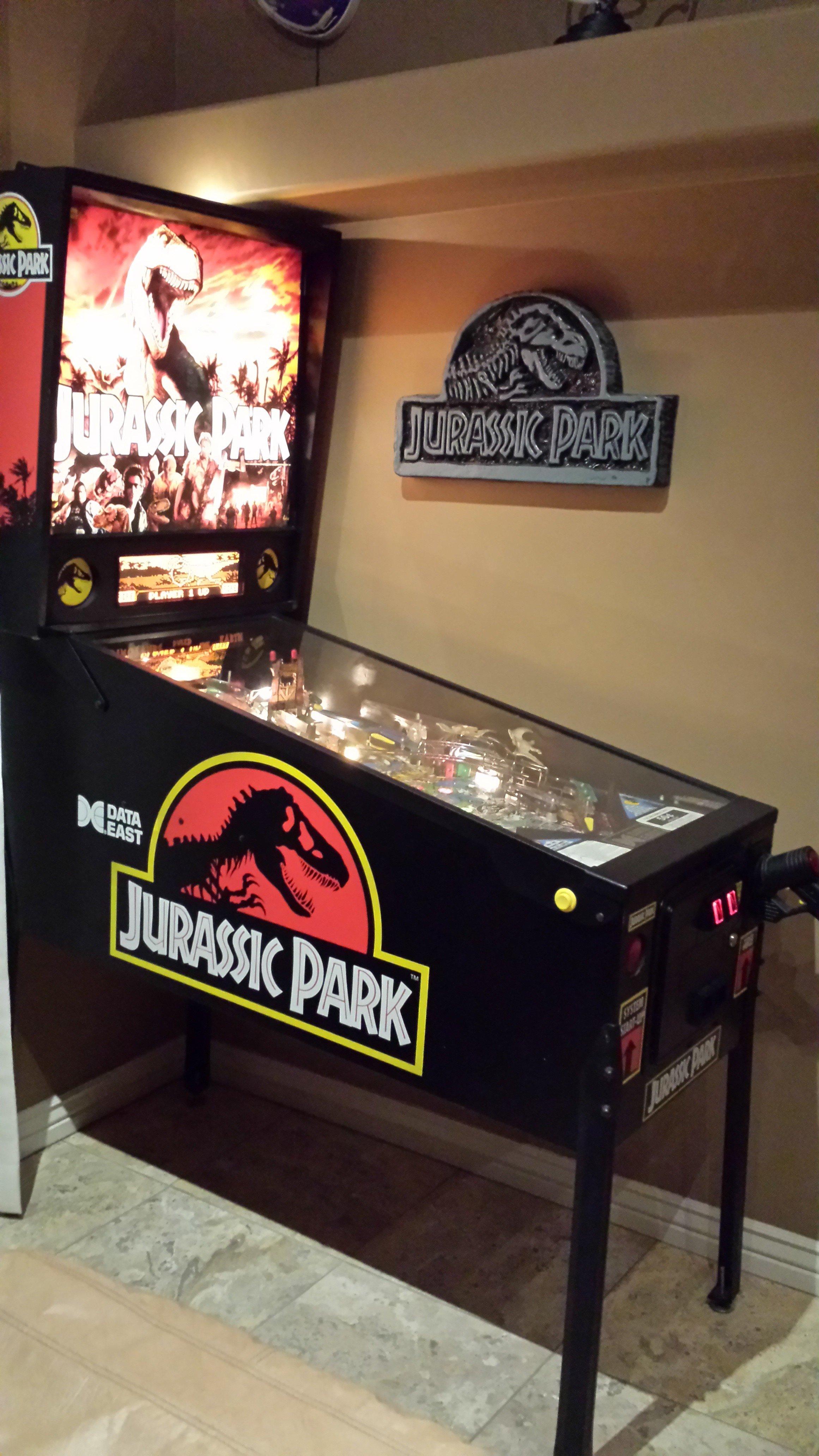 Jurassic Park pinball machine for sale in Scottsdale, Arizona
