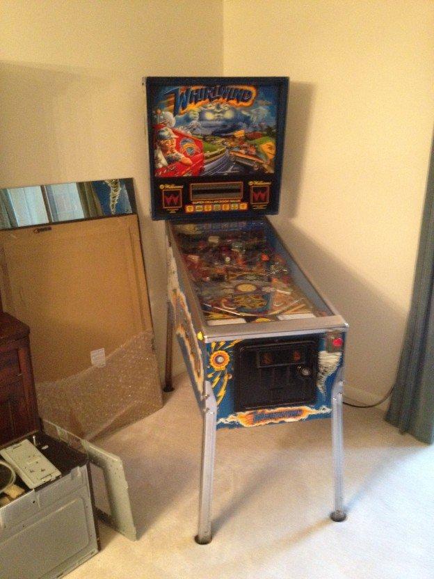Whirlwind Pinball machine for sale in Reston VA