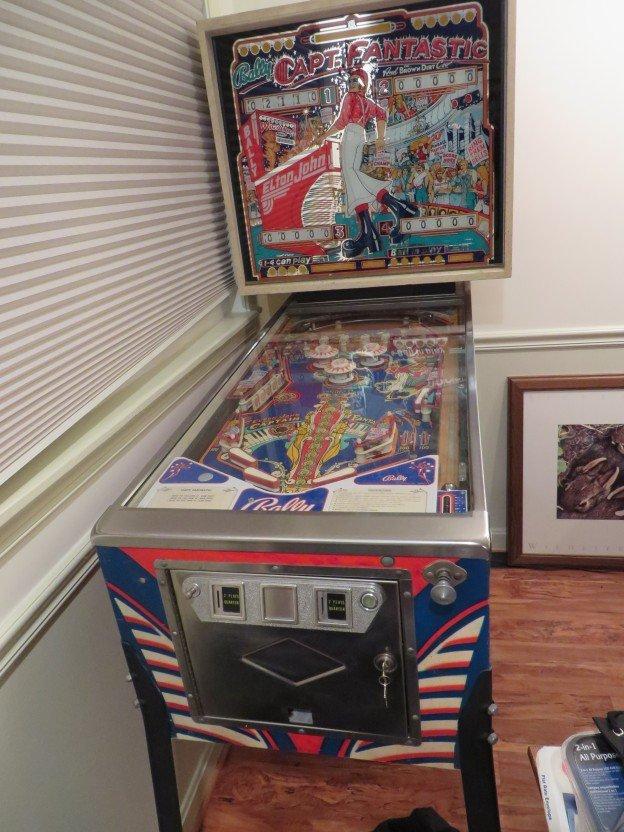 capt fantastic brown dirt cowboy pinball machine full
