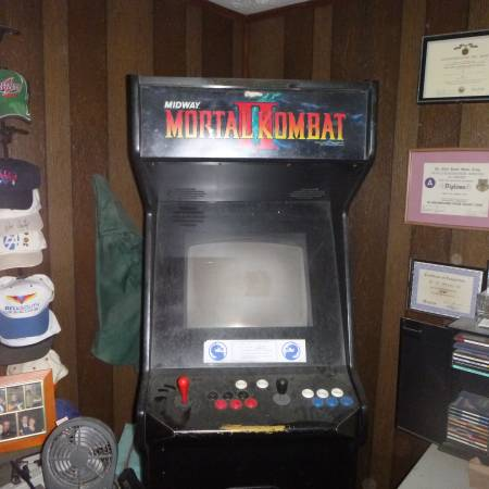 Buy Here Pay Here Atlanta >> Mortal Kombat II video arcade game for sale in Atlanta, GA