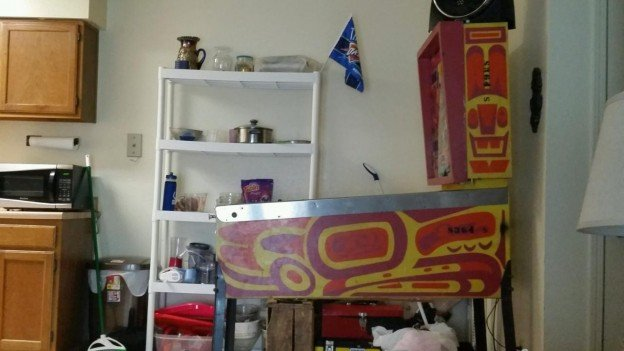 side of totem pinball machine for sale