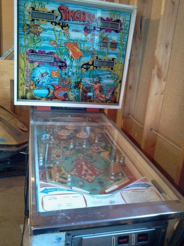 stingray pinball machine for sale in wisconsin
