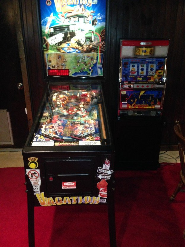 jukebox skillstop vacation america pinball for sale in bristol tn. Black Bedroom Furniture Sets. Home Design Ideas
