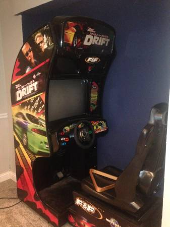 Fast And Furious Tokyo Drift Video Arcade Game For Sale