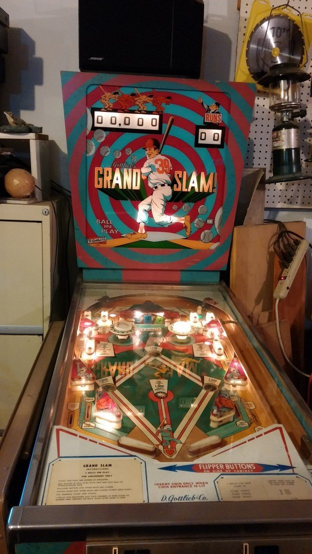 Grand Slam pinball machine for sale fullGrand Slam pinball machine for sale full