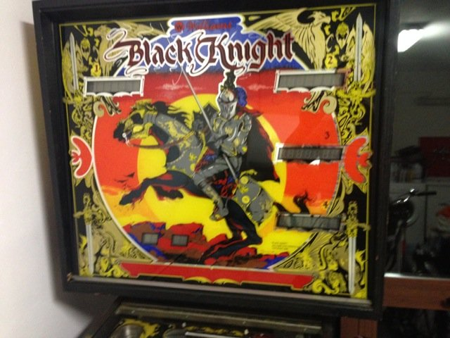 black pinball machine for sale