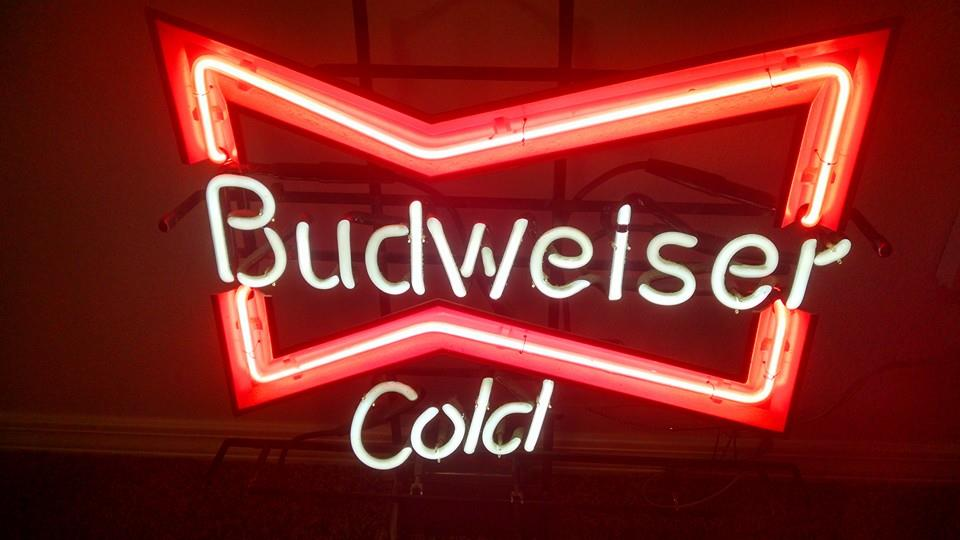 Budweiser Beer Neon Sign For Sale In Visalia Ca