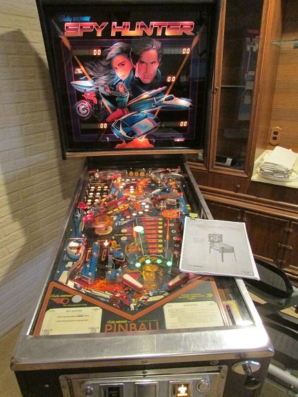 Midway Spy Hunter pinball machine for sale in Bentonville