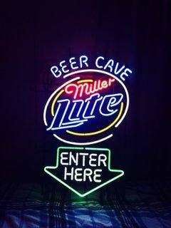 Miller Lite neon sign for sale in Gainesville Georgia