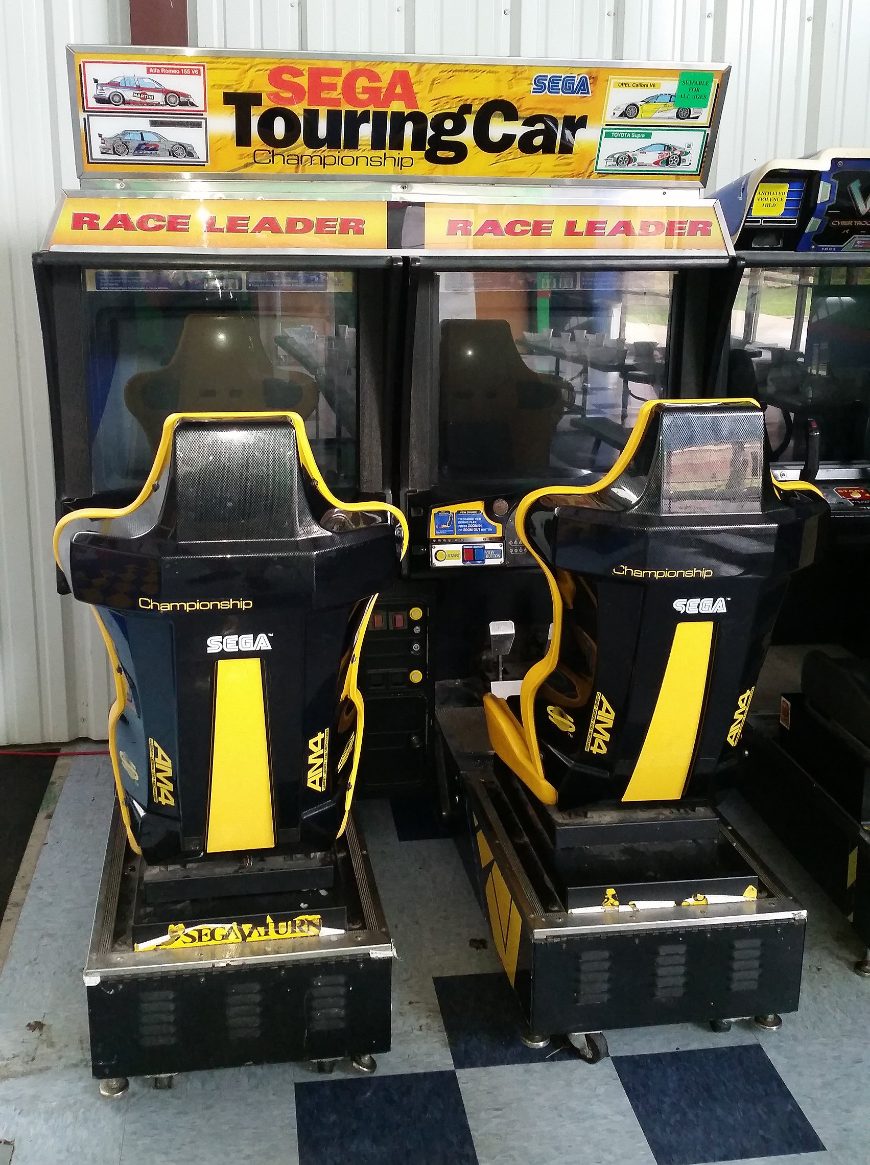 Sell Car For Cash >> Sega Touring Car Championship video arcade game for sale ...