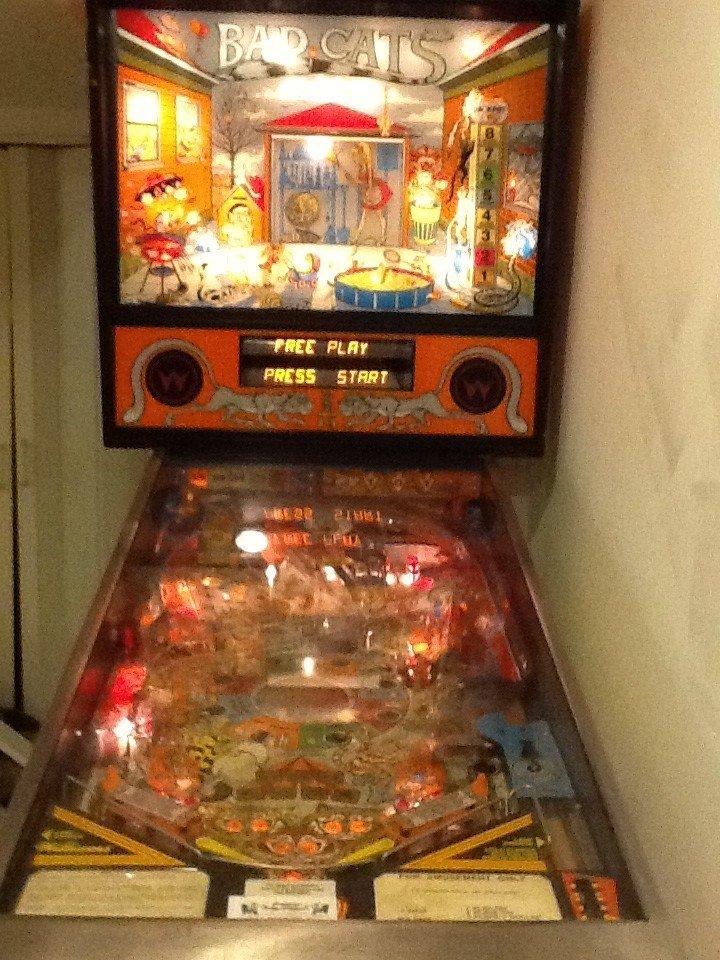Williams Bad Cats Pinball Machine For Sale In Falls Church Va