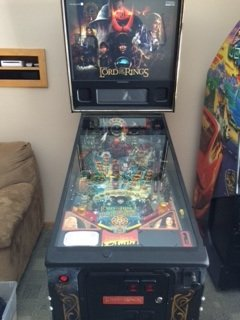 2003 Lord of the Rings pinball machine for sale in Minneapolis, MN