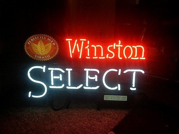 Fallon Winston Select neon sign