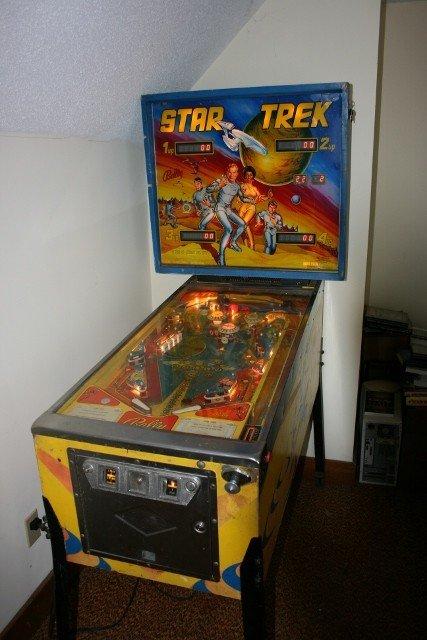 1978 Star Trek pinball...