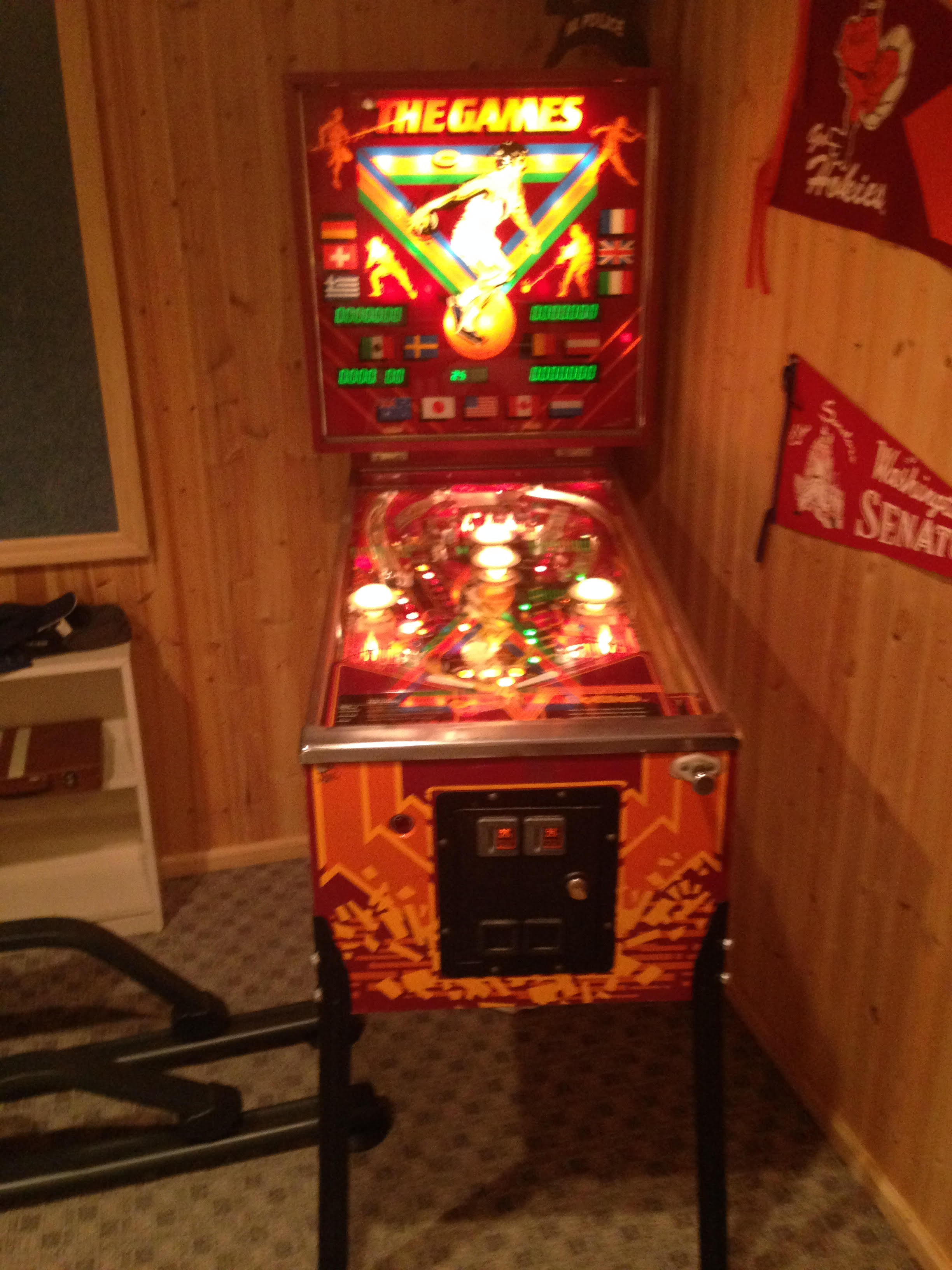 Gottlieb Quot The Games Quot Pinball Machine For Sale In Frederick