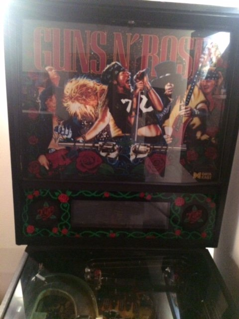 Guns N' Roses pinball machine for sale in Minneapolis