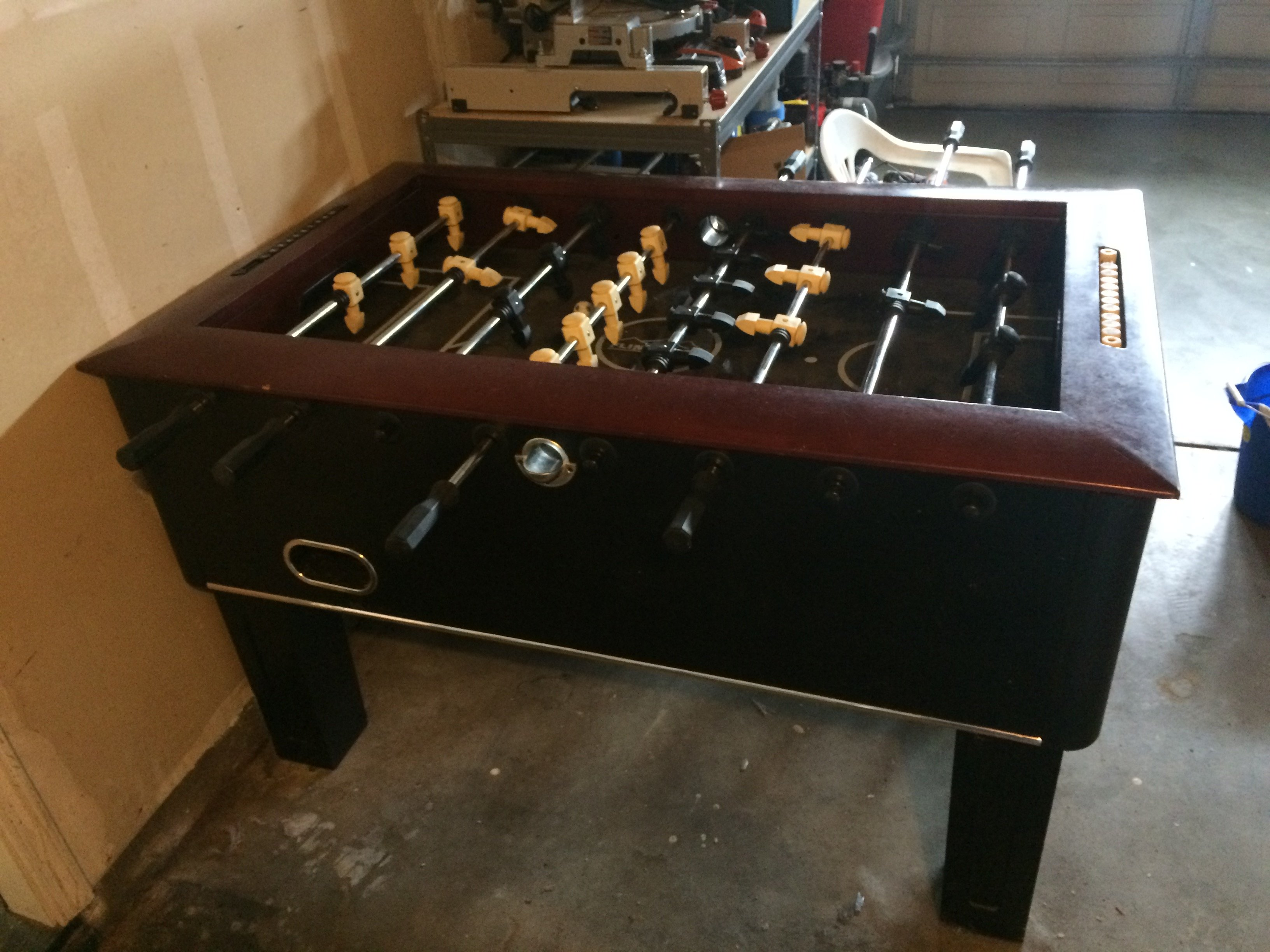 side of foosball table for sale in modesto california - Foosball Table For Sale