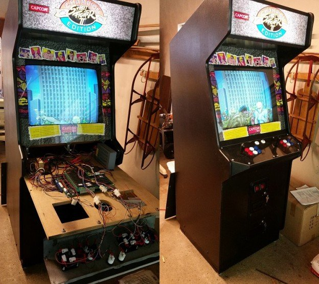Street Fighter II Champion Edition video arcade game for sale Auburn, Indiana