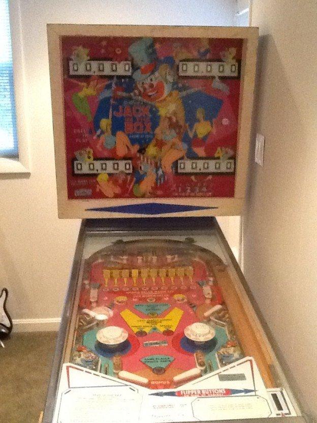 Gottlieb Jack in the Box pinball machine for sale in Fairfax