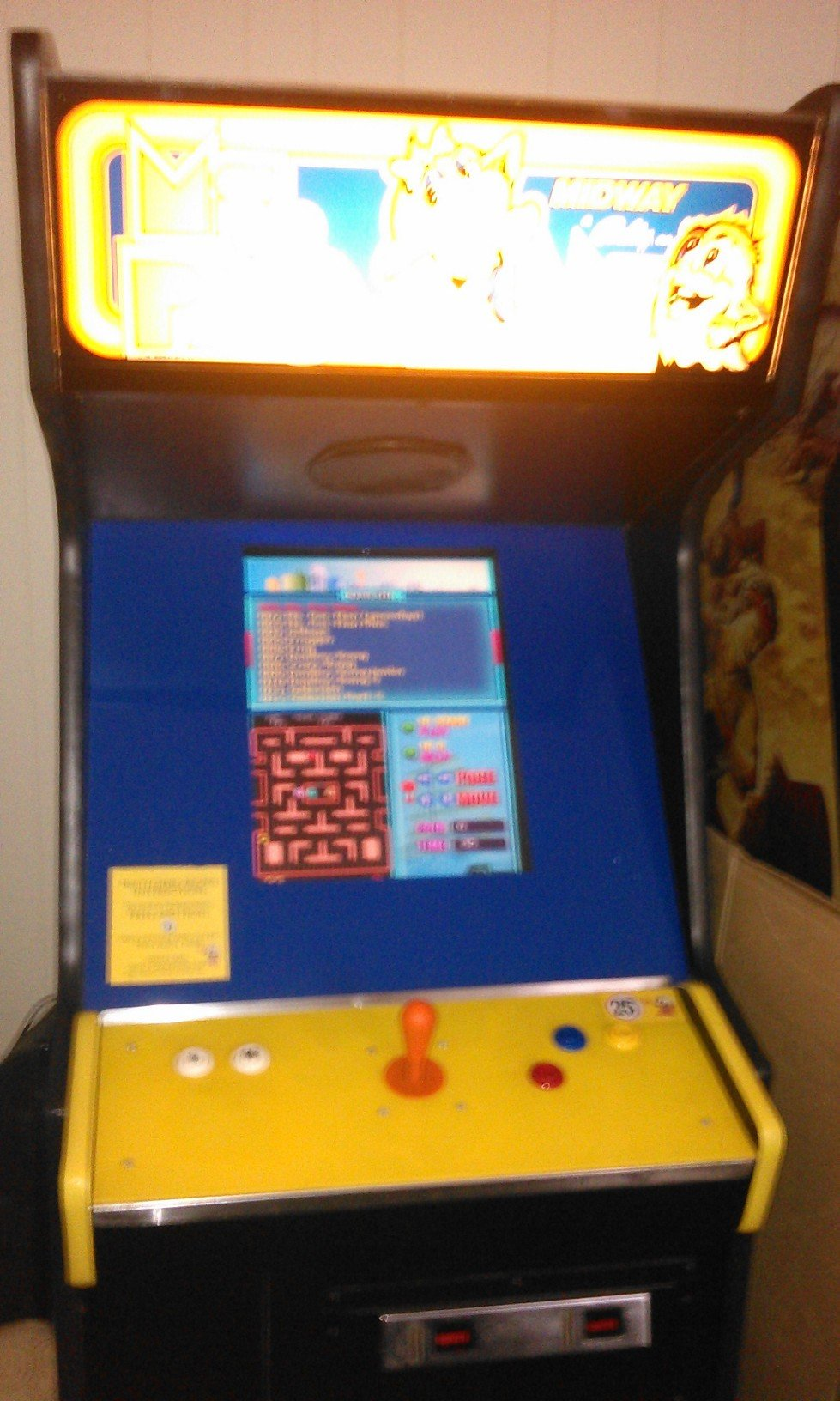 Ms. Pac-man video arcade game for sale in Nescopeck, PA