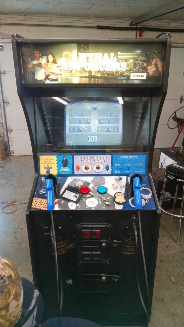 lethal enforcers video arcade game for sale in Illinois