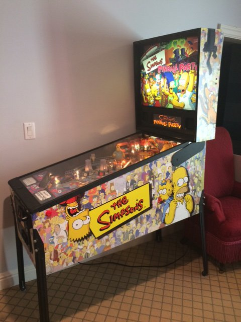 Simpsons Pinball Party for sale in Westport, Connecticut