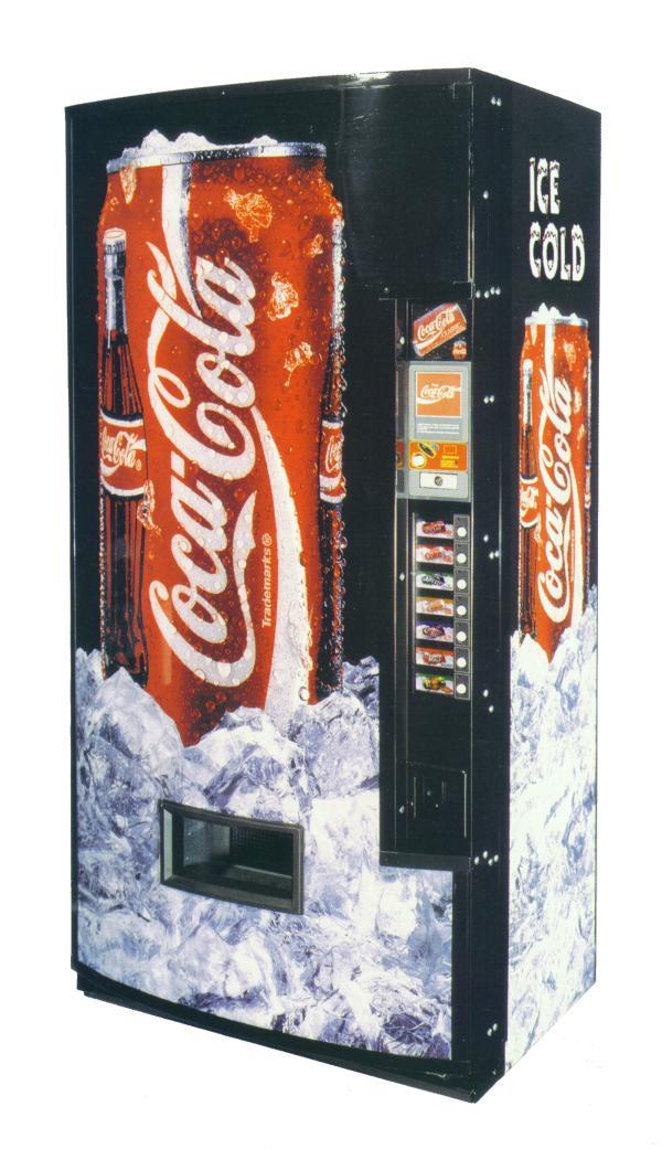 Coke Soda Can Vending Machine We Buy Pinball Machines