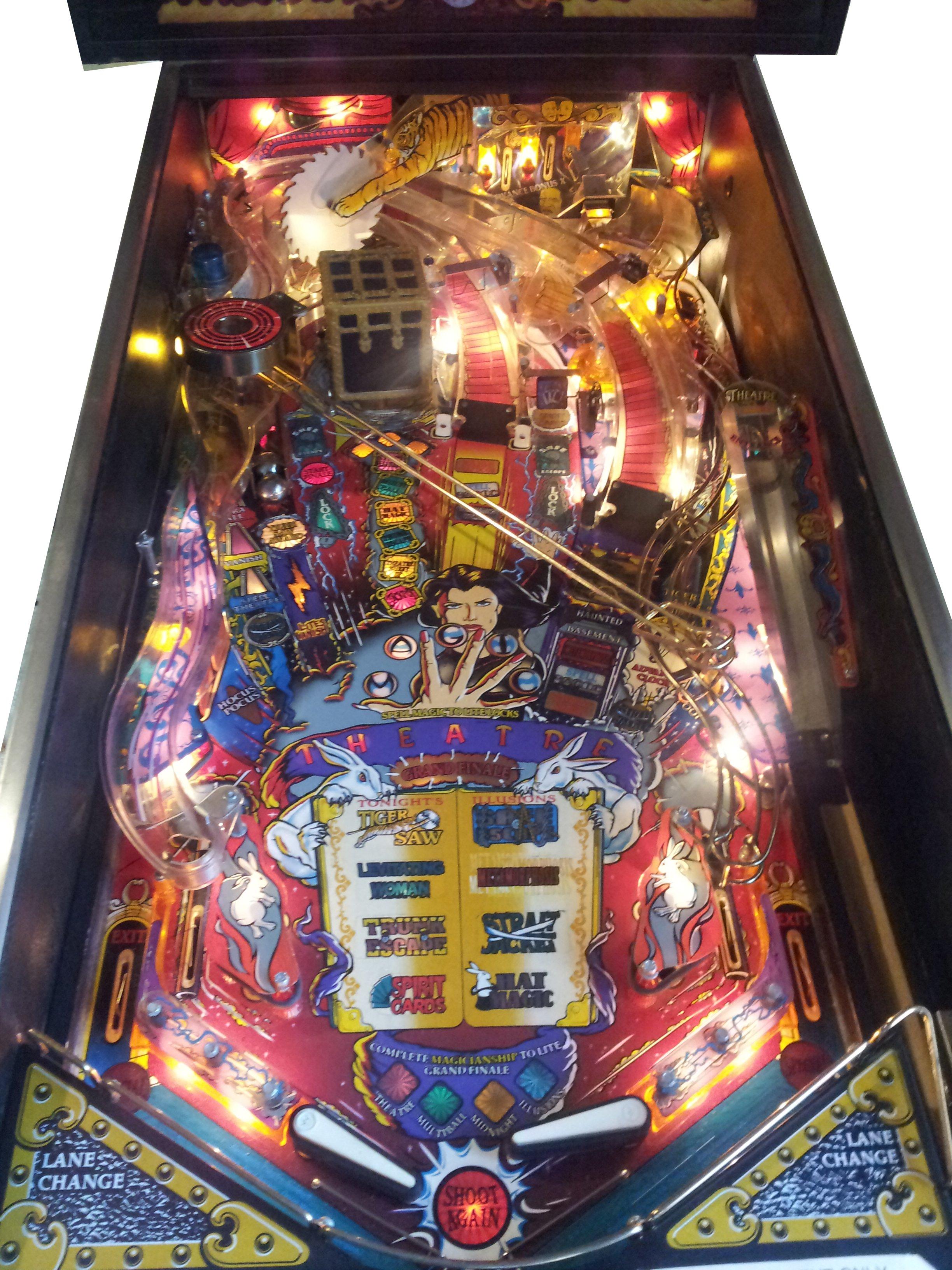 sell pinball machine