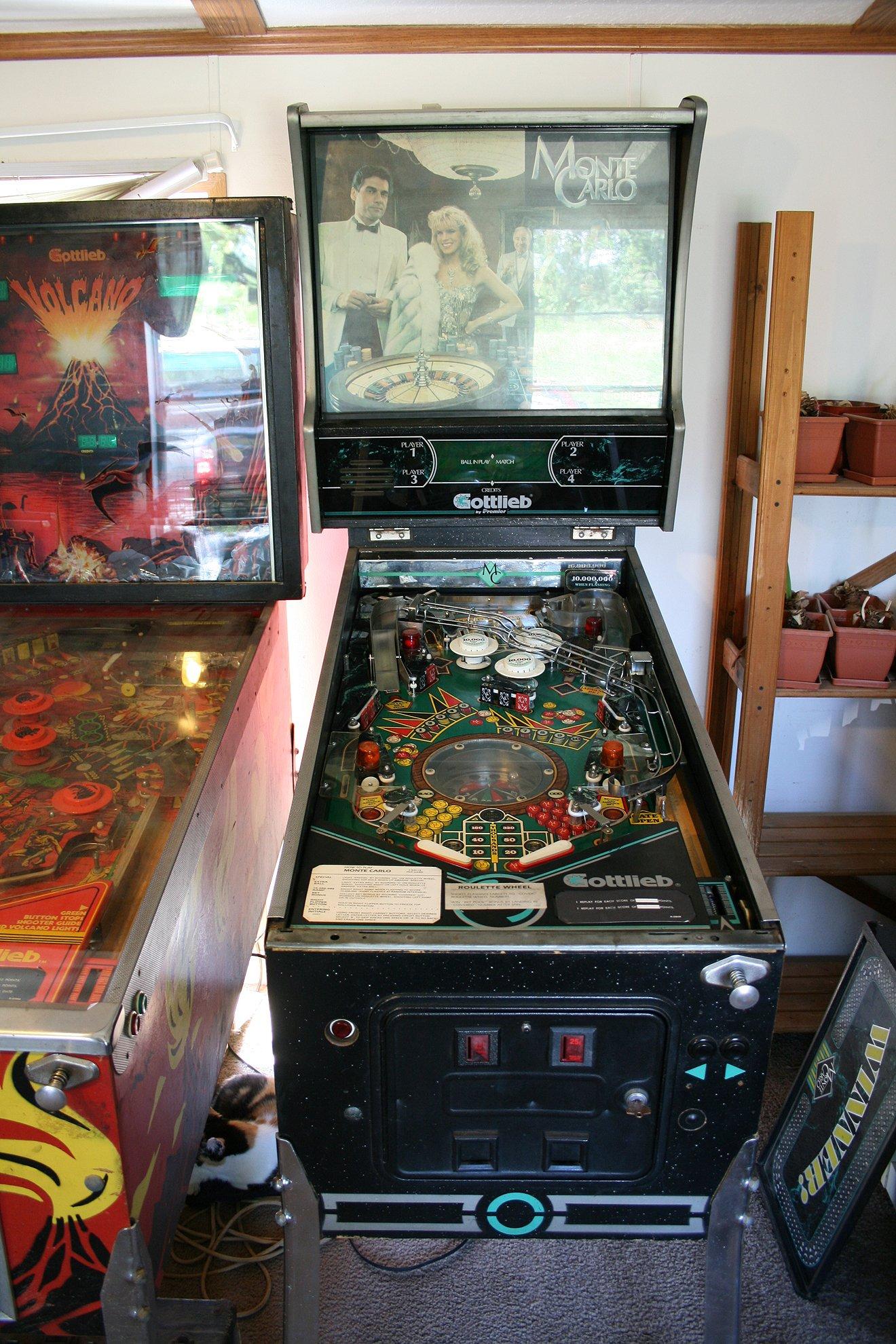 monte carlo pinball machine