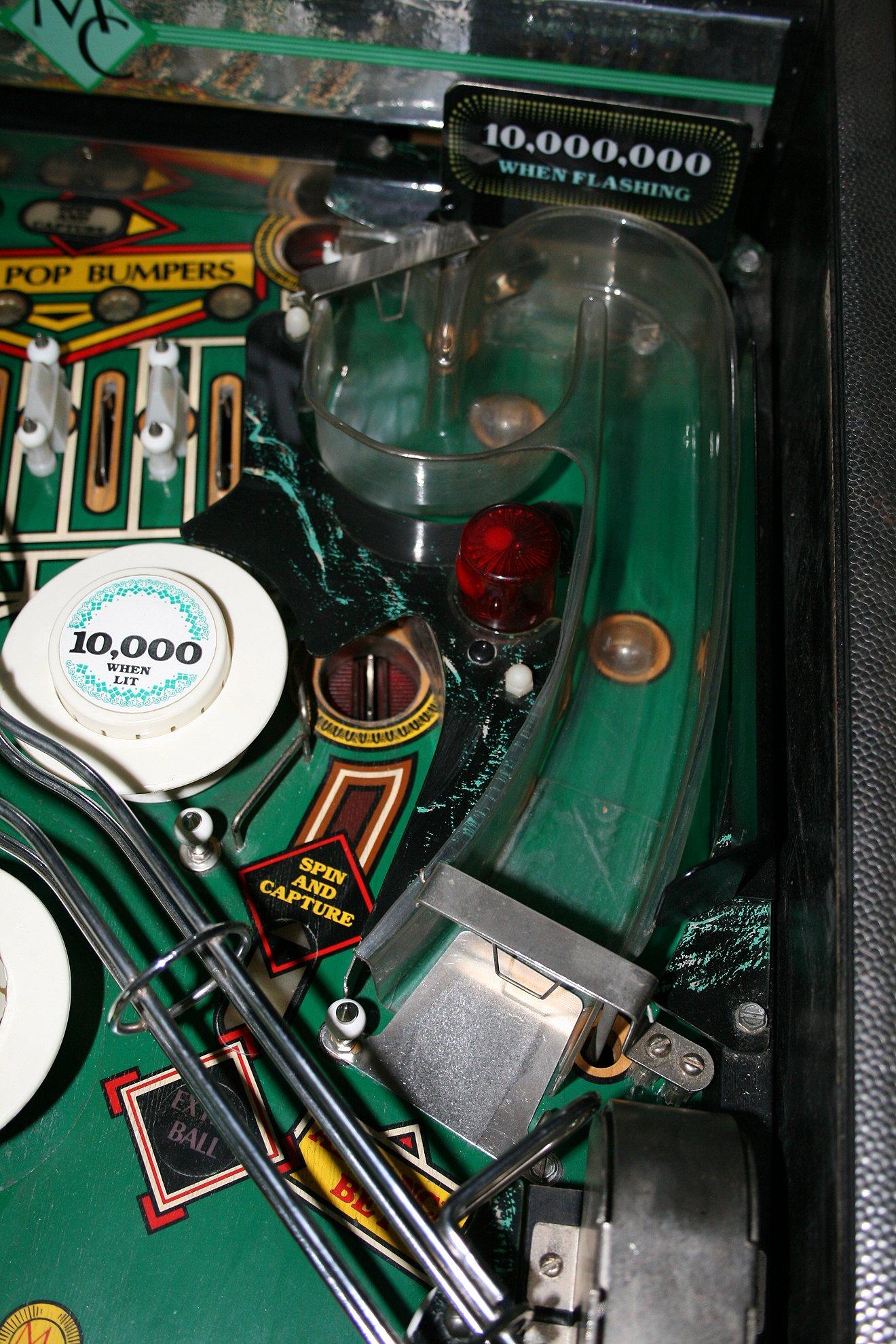 monte carlo pinball machine for sale