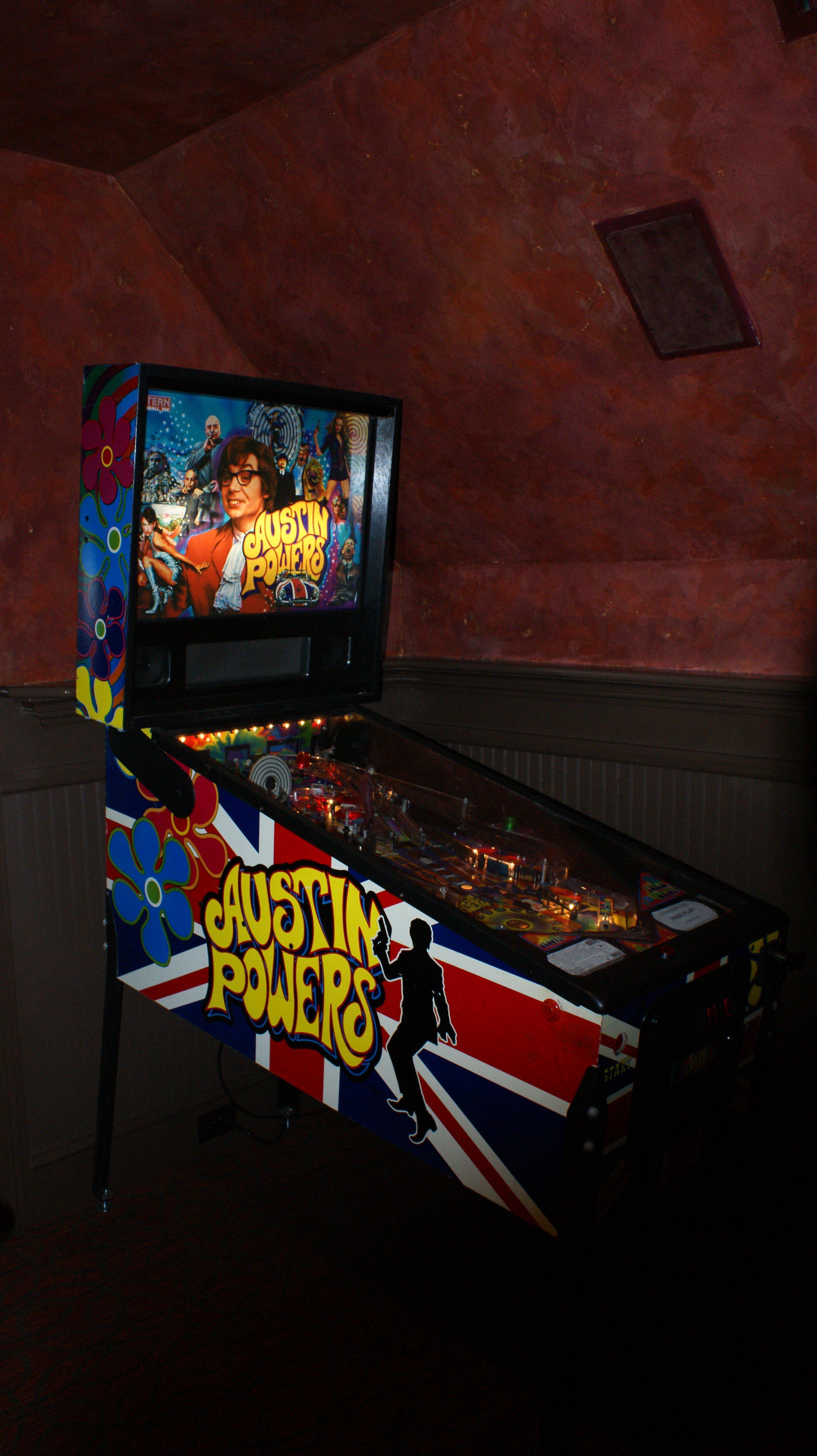 powers pinball machine