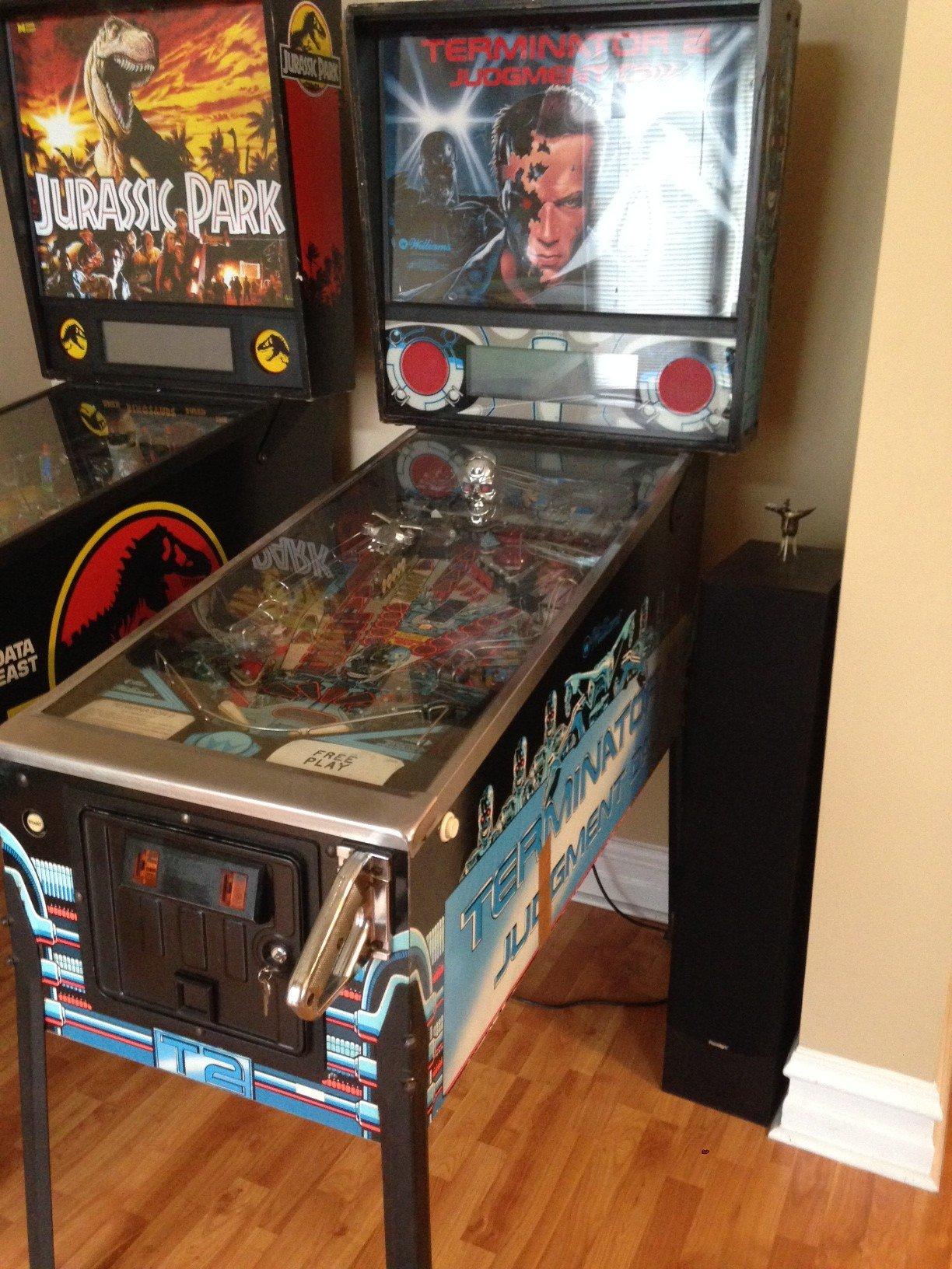 terminator 2 pinball machine for sale