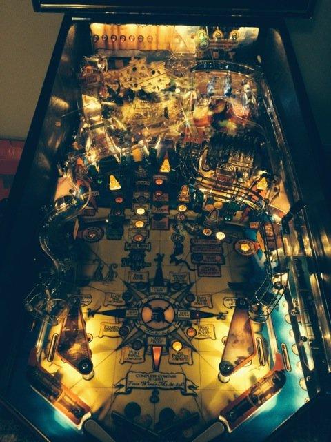 of the caribbean pinball machine
