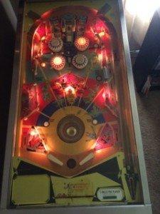 space time pinball machine