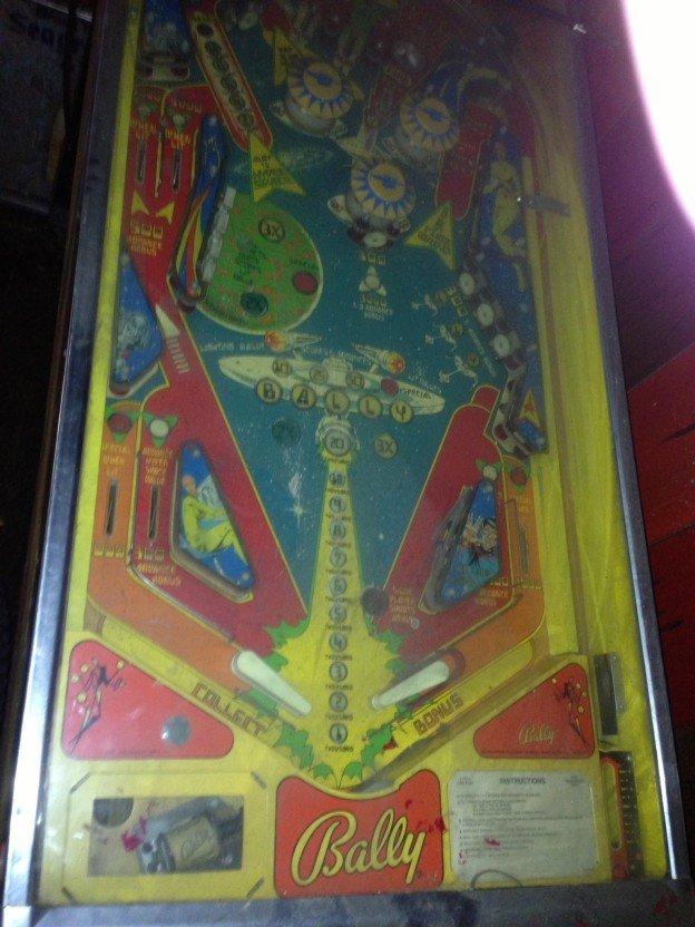trek pinball machine for sale